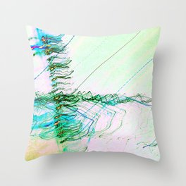The Rush Aesthetic Throw Pillow