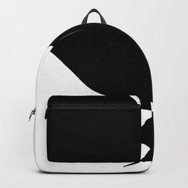 Black and White Minimal Art-I Backpack