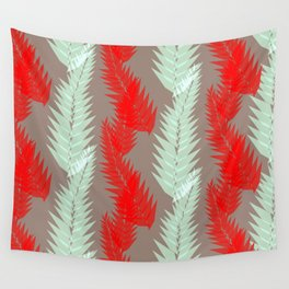Fern in Jamaican Cherry - Botanicals Collection Wall Tapestry