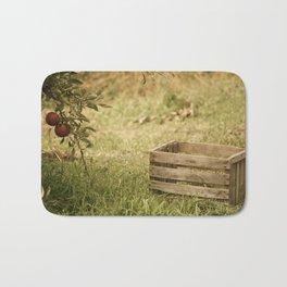 apple crate photograph Bath Mat