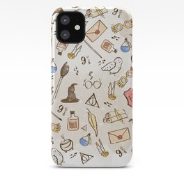 Wizarding Pattern iPhone Case