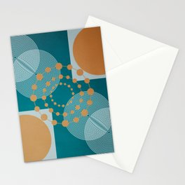 Law Of Attraction - Abstract Geometric Circles Stationery Cards