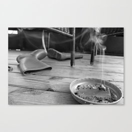 porchin' it Canvas Print