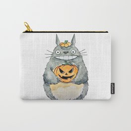 Pumpkin and Smile! Carry-All Pouch