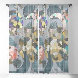 Gemstone Space Moon Sheer Curtain