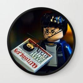 Self-Involved Harry Wall Clock