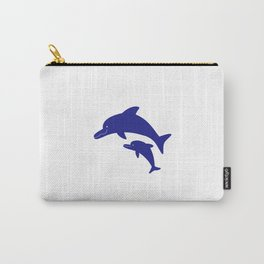Parent-child of dolphin Carry-All Pouch