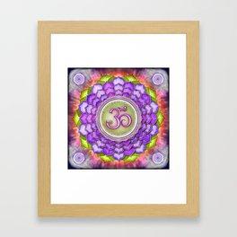 Sahasrara Chakra - Crown Chakra - Series III Framed Art Print