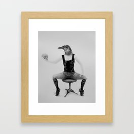 No Flight Framed Art Print