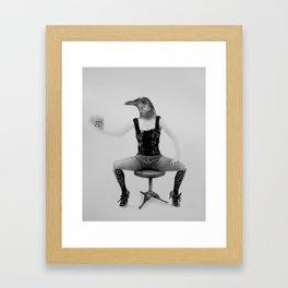 No Flight Framed Art Print