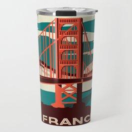 Vintage poster - San Francisco Travel Mug