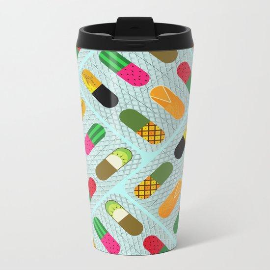 FruitPills Metal Travel Mug