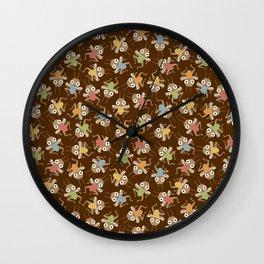 Dancing crickets Wall Clock