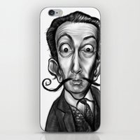 dali iPhone & iPod Skins featuring Dali by Rubiao Ferraz Cozer