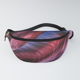Abstract Waterfall Fanny Pack