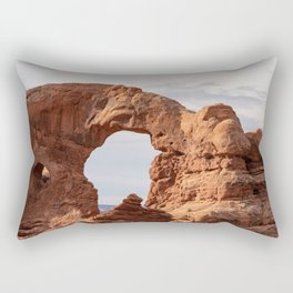 Turret Arch 0266 - Arches National Park, Utah Rectangular Pillow