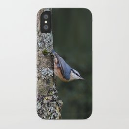 Nuthatch---(Sitta europaea) iPhone Case