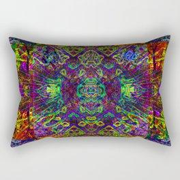 The symmetry of being Rectangular Pillow