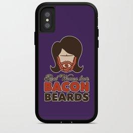 Bacon Beard (women's version) iPhone Case