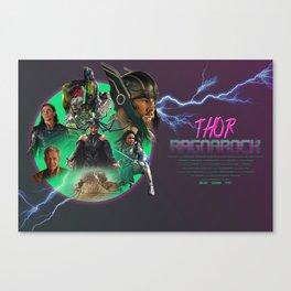 Thor Ragnarok Alternative Movie Poster Canvas Print
