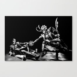 Creation of Loki... Not Canvas Print