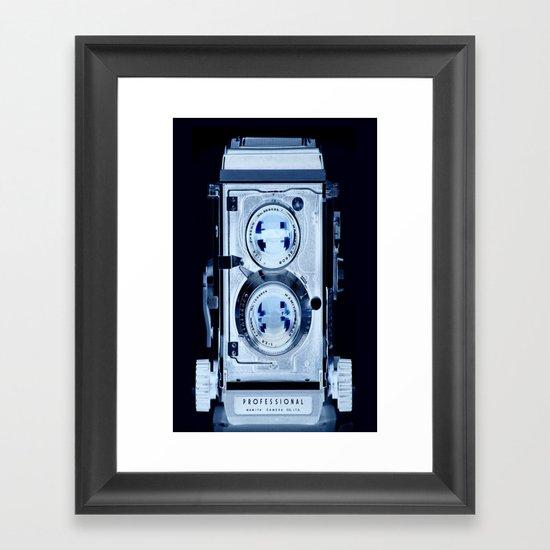 Negative C330 for iPhone5 case Framed Art Print
