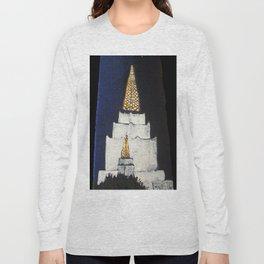 Oakland LDS Temple Tie Long Sleeve T-shirt