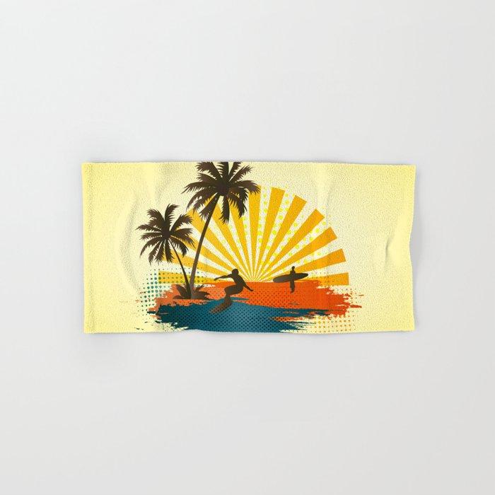 Surfers Hand & Bath Towel