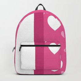 Valentine's Day Hearts 1 Backpack