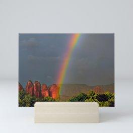 Rainbow Coffee Mini Art Print