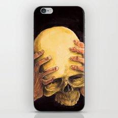 Head on Hands iPhone & iPod Skin