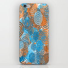 colourful circulars iPhone & iPod Skin