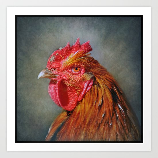 They call me Red..... Art Print