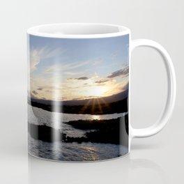 Watercolor Sunset, Janes Island 17, Maryland Coffee Mug