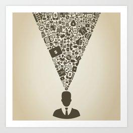 Business5 Art Print