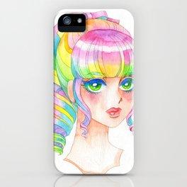 A Rainbow Doll 0824 iPhone Case
