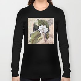 Vintage White Magnolia Long Sleeve T-shirt