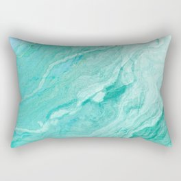Azure marble Rectangular Pillow