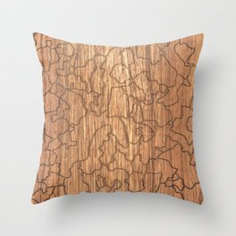 Platanus Orientalis Throw Pillow