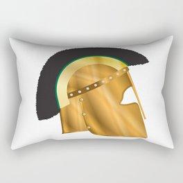 Roman Gladiator Helmet Rectangular Pillow
