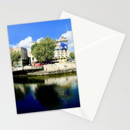 River Liffey, Dublin Pamorimic Stationery Cards