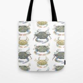Blue Crabs Tote Bag
