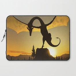 Dragon Sunset Laptop Sleeve