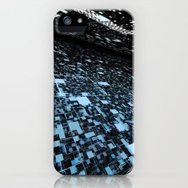 In 2048, nature will change to a digital intelligent world iPhone Case