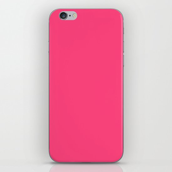 Intensively Pink iPhone & iPod Skin