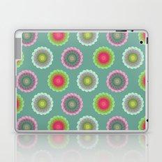 transparent floral pattern 3 Laptop & iPad Skin