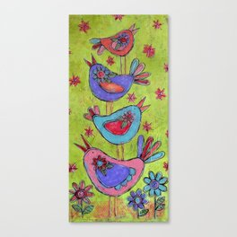 Sweet Friends Canvas Print