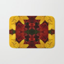"""A Gathering of Lilies"" Remix - 2 (2-1) [D4466~24] Bath Mat"