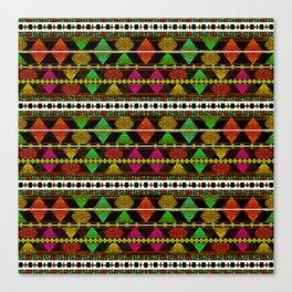Aztec Style Pattern  Canvas Print