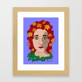 Half incorporated Framed Art Print